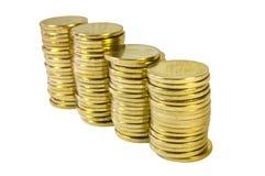 coins guld- Arkivbild