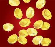 coins guld- Royaltyfria Bilder