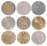 coins Hong Kong Arkivbilder