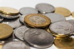 coins indier Arkivfoton