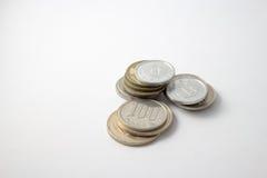 coins japan Royaltyfria Bilder