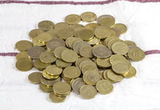 coins liraturk Arkivfoton