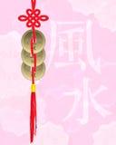 coins lycklig shui för feng Royaltyfri Foto