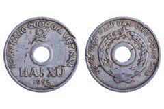 coins makroen romania Arkivbilder