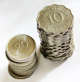 Coins from Mauritius Stock Images