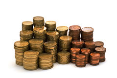 Coins and more coins. Stock Photography