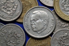 Coins of Morocco Royalty Free Stock Photos