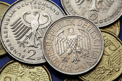 Free Coins Of Germany Stock Photo - 45425480