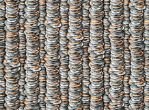 Coins Pattern Stock Images