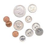 coins pengar Royaltyfria Foton