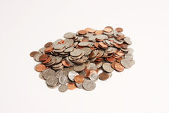 Coins Pile Stock Photos