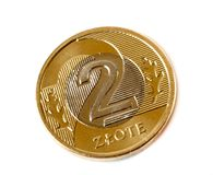 Coins - Polish currency Royalty Free Stock Photography
