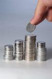 coins rmb Royaltyfria Foton