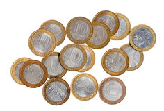 Coins of russia Stock Images