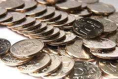Coins Russian Federation Stock Image