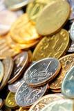 coins ryss Royaltyfri Foto
