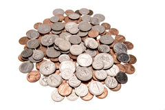 coins s u arkivbild