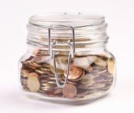 Coins saved Stock Photos