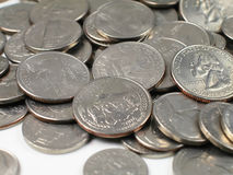 Coins-South Dakota Royalty Free Stock Photos