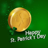 Coins. St. Patricks Day  illustration. Elements are layered separately in  file Stock Photo