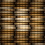 Coins stack Stock Photos