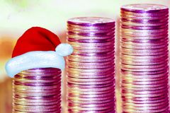 The concept of Christmas sales real estate Stock Photography
