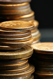 Coins stacks Royalty Free Stock Image