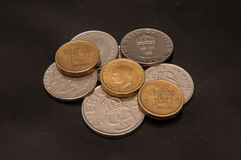 Coins Swedish kronor Stock Images