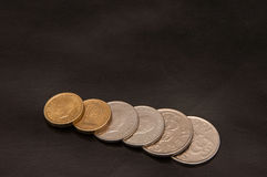 Coins Swedish kronor Royalty Free Stock Images