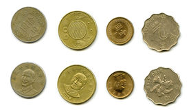 Coins of Taiwan Royalty Free Stock Image