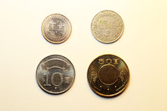Coins of Taiwan Dollar Stock Images