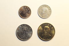 Coins of Taiwan Dollar Stock Photo