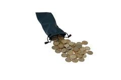 Coins tenge. Stock Photos