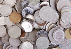Coins texture Stock Photography