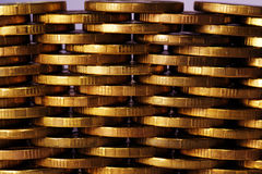 Coins texture Royalty Free Stock Image