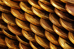 Coins texture Stock Photo