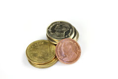 Coins Thai Stock Photo