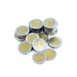 coins thai Royaltyfri Foto