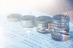 coins thai Royaltyfri Fotografi