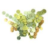 Coins Thai Baht Stock Image