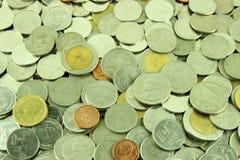 Coins Thai Baht Stock Photography
