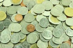 Coins Thai Baht Stock Photo