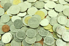 Coins Thai Baht Royalty Free Stock Images