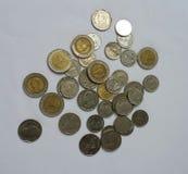 coins thailand Arkivbild