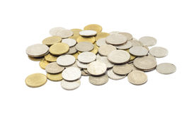 Coins thailand Stock Image