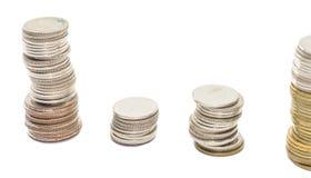 Coins thailand Royalty Free Stock Photos
