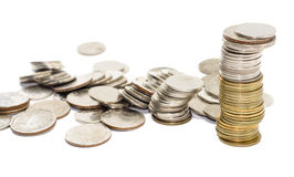 Coins thailand Royalty Free Stock Image