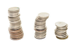 Coins thailand Royalty Free Stock Photography