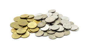 Coins thailand Royalty Free Stock Photo