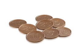 coins toy stock photo